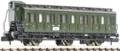 3-axled 1st/2nd class compartment coach with brakeman's cab, type BC3 pr03 DB