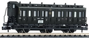 3-axled 2nd/3rd class compartment coach with brakeman's cab, type BC3 pr03 DRG