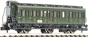 3-axled 2nd class compartment coach with brakeman's cab, type C3 pr11 DB