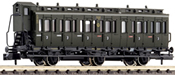 3-axled 3rd class compartment coach with brakeman's cab, type C3 pr11 DRG