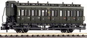 2-axled 3rd class compartment coach with brakeman's cab, type C pr21 DRG
