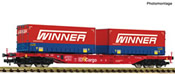 Container carrier wagon + Winner Display 825030 #7