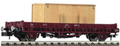French Stake Car with Wodden Box Freight