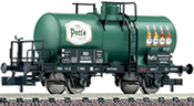 "Fleischmann 842611 2-axle Tank Car ""Potts"" of the MEH"