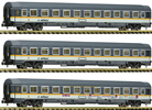 3 piece set: Eurofima wagons, alex