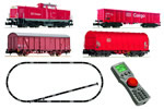 German Digital Starter-Set w. BR 212 + Freight Train of the DB AG