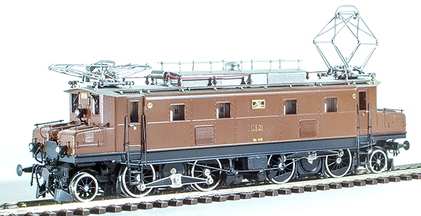 Fulgurex 11301 - Swiss Electric Locomotive Class Be4/6 of the SBB (Digital)