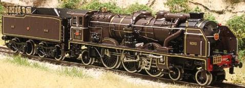 Fulgurex 1158 - Nord Class 231 Chapelon Pacific - Brown Livery