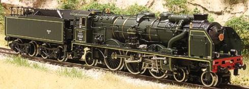 Fulgurex 11581 - SNCF Class 231 Pacific - Green Livery