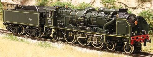 Fulgurex 11581d - SNCF Class 231 Pacific - Green Livery DCC Digital Version