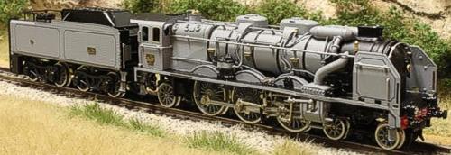Fulgurex 11582d - PO Class 231 Pacific - Grey Livery DCC Digital Version
