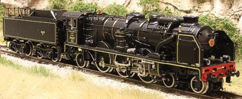 Fulgurex 11583 - SNCF Class 231 Pacific - Black Livery