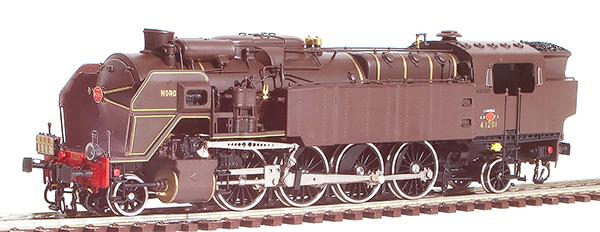 Fulgurex 2237 - French Nord Class 141TC Tank Locomotive (Digital)