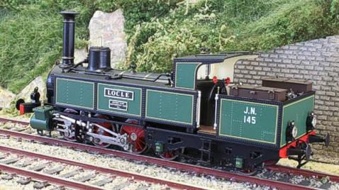 Fulgurex 2258 - Swiss JN Ed 3/5 Locomotive Locle with cab