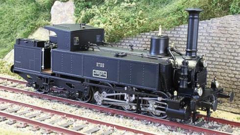 Fulgurex 22582 - Swiss SBB CFF Eb 3/5 Locomotive No. 8799 with cab