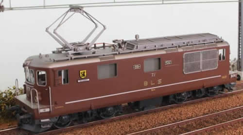 Fulgurex 22601 - Swiss Elelctric Locomotive Class Re 4/4 GRENCHEN of the BLS
