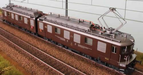Fulgurex 2261 - Swiss Electric Locomotive Class Ae 8/8 of the BLS