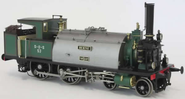 Fulgurex 22632 - Swiss Steam Locomotive Ec 2/4 S-O-S