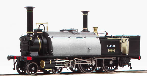 Fulgurex 22635 - Swiss Steam Locomotive Ec 2/4 as Prototype Delivery