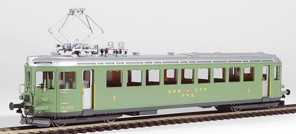 Fulgurex 2267-1 - Swiss Electric Rail Car Class Ce2/4 of the SBB (Digital)