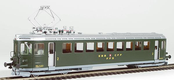 Fulgurex 2267-2 - Swiss Electric Rail Car Class Ce2/4 of the SBB (Digital)