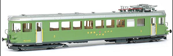 Fulgurex 401-1154-1d - Swiss Electric Rail Car Class Ce2/4 of the SBB (Digital)