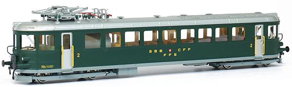 Fulgurex 401-1154-2d - Fulgurex Swiss Electric Rail Car Class Ce2/4 of the SBB (Digital)
