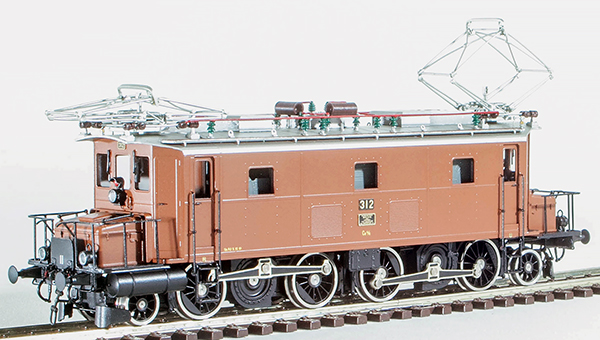 Fulgurex 401-22242 - Swiss Electric Class Ce4/6 Brown