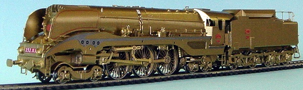 Fulgurex 401-22382 - SNCF 4-6-4 Express Loco Class U1