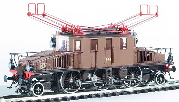 Fulgurex 401-22391 -  Italian #362 Valtellina Simplon Locomotive