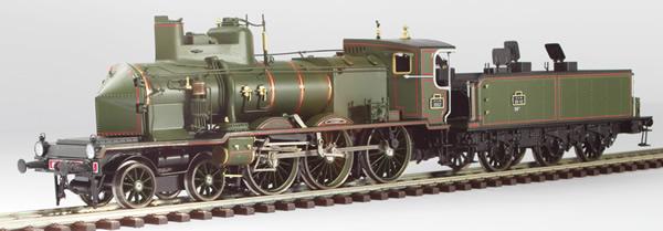 Fulgurex 401-22591 - French Steam Locomotive PLM C230 Coupe-Vent