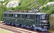 Swiss SBB/CFF Ae6/6 Heavy Electric with LUZERN Canton