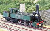 Swiss SCB Ed 3/5 Locomotive Weissenstein with cab