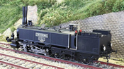 Swiss SCB Ed 3/5 Locomotive Chasseral without cab