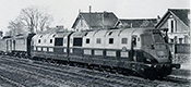 French Double Diesel Locomotive Class 262 BD1 of the SNCF