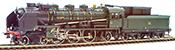 French ETAT Class 231 Orient Express locomotive