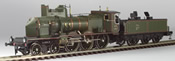 French Steam Locomotive PLM C230 Coupe-Vent