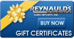 Get a Gift for someone special!  Get a Reynaulds Gift Card!