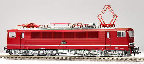 Gutzold 39350 - German Electric Locomotive 250137-7 of the DR