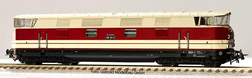 Gutzold 42043 - German Steam Locomotive 118131-2 of the DR (Sound Decoder)