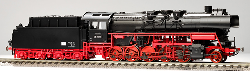 Gutzold 58040 - German Steam Locomotive 58 3027 of the DR