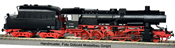 German Steam Locomotive 52 4900 with Coal Dust Tender of the DR (DCC Sound Decoder)