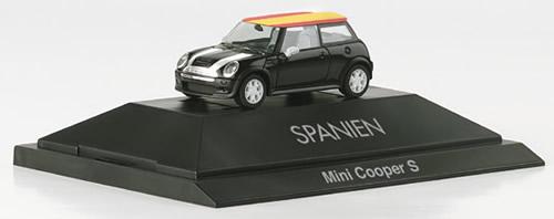 Herpa 101486 - Mini Cooper S (19.75) Spain, Net Pricing