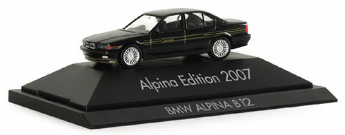 Herpa 101790 - BMW Alpina B12 (27.75) 2007 Edition