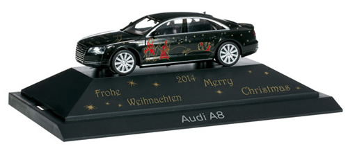Herpa 101936 - Audi A 8 Christmas 2014