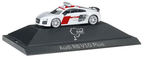 Herpa 102001 - Audi R8 V10 Plus ($ 46.95) 24H Nurburgring Safety...