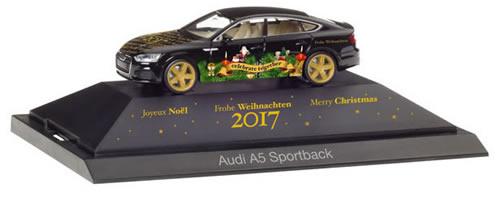 Herpa 102117 - Audi A5 Sportback Christmas 2017