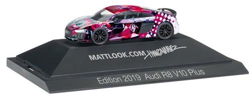 Herpa 102148 - Audi R8 V10 Plus Mattlook, Edition 4
