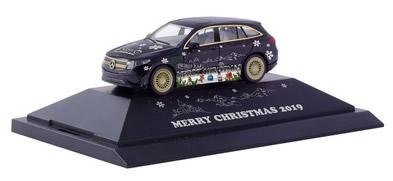 Herpa 102155 - Mercedes Eqc AMG P.C. Christmas 2019
