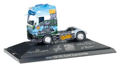 Herpa 110839 - MAN TGX Tractor, P.C.